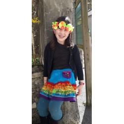 Jupe multicolor