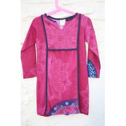 Robe chasuble manches longues