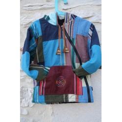 Veste chaude patchwork