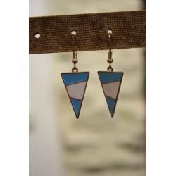Boucles d'oreilles triangle...
